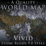 A Quality World Map - Vivid with Stone Roads [XB1] | Skyrim - Xbox ...