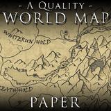 A Quality World Map - Paper | Skyrim - PC | Mods | Bethesda.net