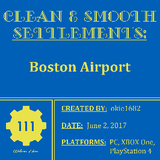 Clean & Smooth: Boston Airport (PlayStation 4 Version) | Fallout 4