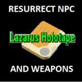 Resurrect NPC - Lazarus Holotape + Weapons (DLC) (XBONE) | Fallout 4